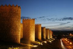 Spanje, Avila Stock Foto's