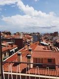 Spanje Barcelona stock foto's