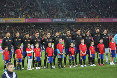 Spanje - Nationaal voetbalteam Royalty-vrije Stock Foto