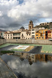 Spanje - Orihuela stock afbeelding