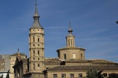 Spanje.  Saragossa. Stock Fotografie