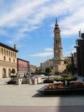 spanje Zaragoza Royalty-vrije Stock Fotografie