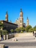 spanje Zaragoza Stock Afbeeldingen