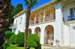 Spanjor-stil hus Arkivfoto