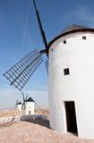 spanjor tre windmills Royaltyfri Bild