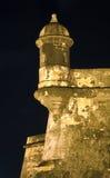 Spanjoren står vakt på El Morro Puerto Rico Royaltyfri Foto