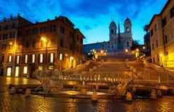 Spanjormoment och Fontana Royaltyfri Bild