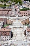 Spanjormoment Rome Italien Mini Tiny royaltyfri bild