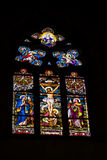 Spannen-glasvenster Royalty-vrije Stock Foto's