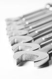 Spanner set Stock Photography