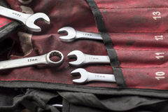Spanner tools Royalty Free Stock Images