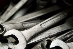 Spanners Fotografia Royalty Free