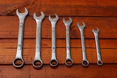 Spanners Royalty Free Stock Image