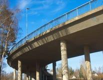 spanning ясности моста дуги конкретный Стоковая Фотография RF