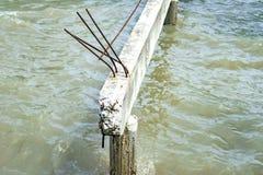 spanning ясности моста дуги конкретный Стоковые Фотографии RF