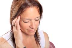 Spannkraftkopfschmerzen Lizenzfreies Stockbild