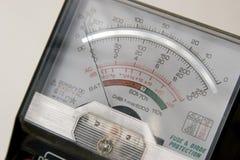 Spannungsmeßinstrument Lizenzfreie Stockbilder
