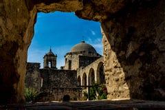 Spansk beskickning San Jose, Texas arkivbilder
