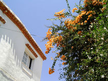 spansk bywhite för hus Royaltyfria Foton