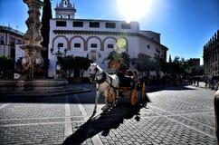Spansk destination, Seville Arkivbild