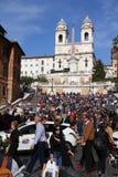 Spansk fyrkant, Rome Royaltyfri Foto