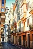 Spansk gata arkivfoton
