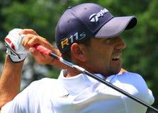 Spansk golfare Sergio Garcia Royaltyfri Fotografi
