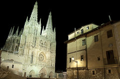 Spansk gotisk domkyrka Royaltyfria Bilder