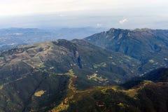 Spansk högland Arkivfoto