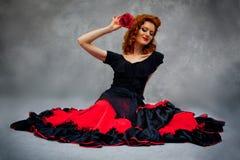 spansk kvinna Royaltyfria Foton