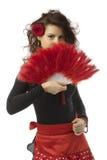 spansk kvinna Arkivfoton