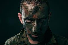 Spansk militär Fotografering för Bildbyråer