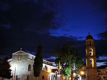 Spansk natt Arkivfoto
