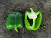 Spansk peppar eller paprika, söt peppar Royaltyfri Bild