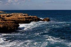 Spansk sjösida Royaltyfria Bilder