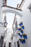 Spansk stad (Poble Espanyol) - arkitektoniskt museum under den öppna himlen Royaltyfria Foton