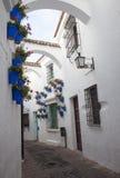 Spansk stad (Poble Espanyol) - arkitektoniskt museum under den öppna himlen Royaltyfri Fotografi