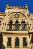 Spansk synagoga, gamla byggnader, Siroka gata, Prague, Tjeckien Royaltyfria Bilder