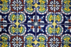 spansk tegelplatta Fotografering för Bildbyråer