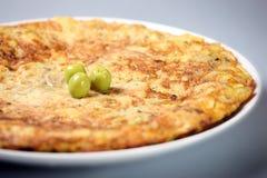 spansk tortilla Royaltyfri Fotografi
