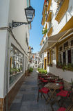 Spansk traditionell gata Arkivfoton