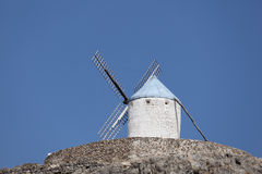 spansk traditionell windmill Royaltyfri Bild