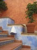spansk trappa Arkivfoto