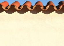 spansk vägg Arkivfoton