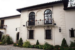 spansk villa Arkivfoton
