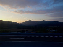 Spanska berg 1 royaltyfri bild