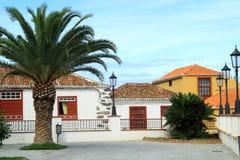 Spanska borggårdar och trädgårdar Royaltyfria Bilder