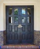 spanska dörrar royaltyfri foto