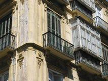 spanska fönster Arkivfoto