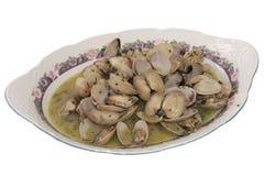 Spanska musslor royaltyfria foton